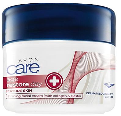 Straffende Gesichtscreme mit Kollagen und Elastin - Avon Care Age Restore Day Firming Facial Cream
