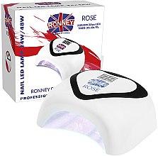 Düfte, Parfümerie und Kosmetik LED-Lampe für Nageldesign schwarz - Ronney Nail Led Lamp Rose White