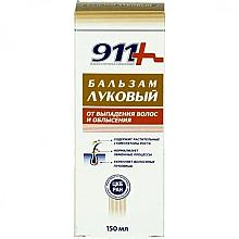 Düfte, Parfümerie und Kosmetik Haarbalsam mit Zwiebel gegen Haarausfall - 911