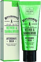 Düfte, Parfümerie und Kosmetik After Shave Balsam mit Vetiver und Sandelholz - Scottish Fine Soaps Vetiver Sandalwood Aftershave Balm