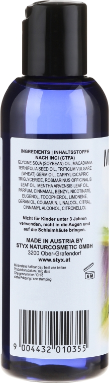 Massageöl Anti-Cellulite - Styx Naturcosmetic Massage Oil — Bild N2