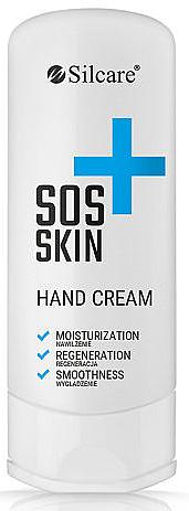 Feuchtigkeitsspendende Handcreme mit Sheabutter und Vitamin E - Silcare S.O.S. Skin Hand Cream