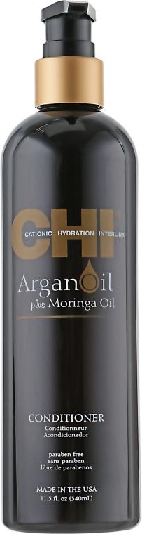 Pflegende und schützende Haarspülung mit Moringa- und Arganöl - CHI Argan Oil Conditioner — Bild N1