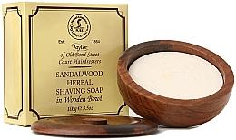 Düfte, Parfümerie und Kosmetik Kräuter-Rasierseife mit Sandelholzduft - Taylor Of Old Bond Street Sandalwood Herbal Shaving Soap