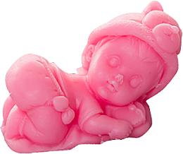 Düfte, Parfümerie und Kosmetik Handgemachte Naturseife Jesuskind auf dem Kissen rosa - LaQ Happy Soaps