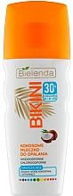 Düfte, Parfümerie und Kosmetik Wasserfeste Sonnenschutzmilch mit Kokoswasser und Vitmin E SPF 30 - Bielenda Bikini Moisturizing Suntan Milk SPF30