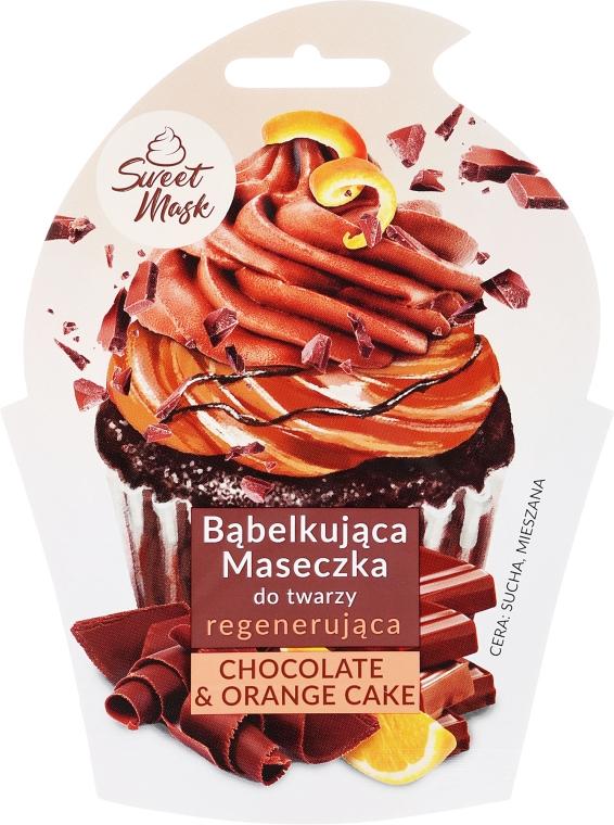 Regenerierende Gesichtsmaske - Marion Sweet Mask Chocolate Orange Cake