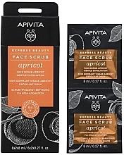 Düfte, Parfümerie und Kosmetik Sanftes Gesichtspeeling mit Aprikose - Apivita Express Beauty Face Scrub Apricot