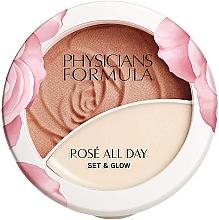 Düfte, Parfümerie und Kosmetik Puder-Balsam für das Gesicht - Physicians Formula Rose All Day Set & Glow