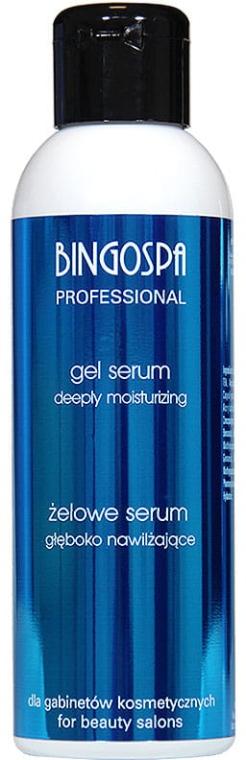 Intensiv feuchtigkeitsspendendes Gesichtsgel-Serum - BingoSpa Artline Gel Moisturizing Serum — Bild N1