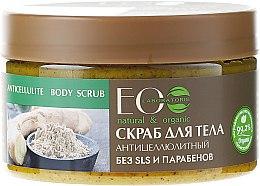 Düfte, Parfümerie und Kosmetik Körperpeeling gegen Cellulite - ECO Laboratorie Natural & Organic Anticellulite Body Scrub