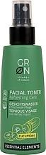 Düfte, Parfümerie und Kosmetik Gesichtstonikum mit Gurke - GRN Essential Elements Cucumber Toner