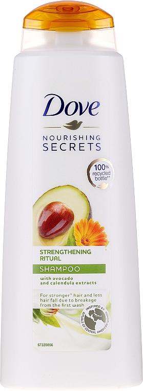 Kräftigungs Ritual Shampoo mit Avocadoextrakt - Dove Nourishing Secrets Invigorating Ritual Shampoo