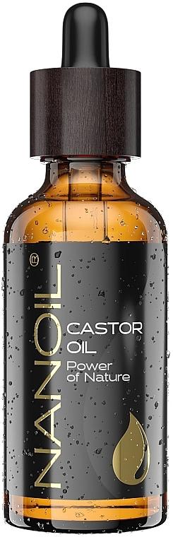 Rizinusöl für Gesicht, Körper und Haar - Nanoil Body Face and Hair Castor Oil