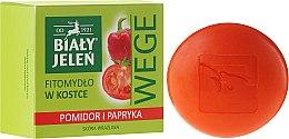 Düfte, Parfümerie und Kosmetik Seife mit Tomaten- und Pfefferextrakt für empfindliche Haut - Bialy Jelen Soap Tomato And Pepper