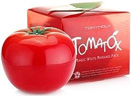 Düfte, Parfümerie und Kosmetik Massage-Gesichtsmaske mit Tomatenextrakt - Tony Moly Tomatox Magic White Massage Pack