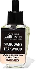 Düfte, Parfümerie und Kosmetik Bath and Body Works Mahogany Teakwood Wallflowers Fragrance - Aroma-Diffusor (Refill)
