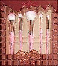 Düfte, Parfümerie und Kosmetik Make-up Pinselset 5-tlg. - I Heart Revolution Chocolate Brush Set
