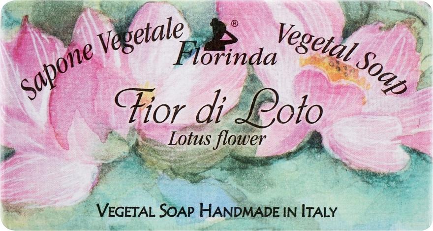 Naturseife Lotosblume - Florinda Sapone Vegetale Vegetal Soap Lotus Flower