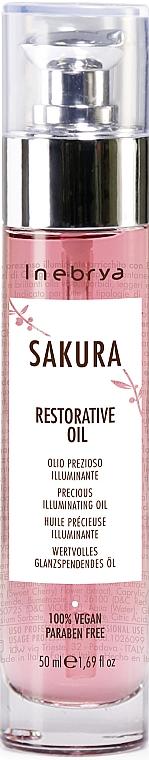 Wertvolles glanzspendendes Öl - Inebrya Sakura Restorative Oil