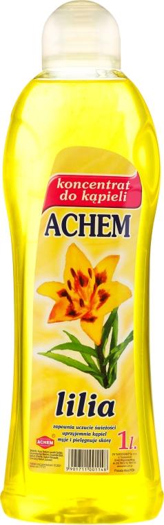 Badekonzentrat mit Lilie - Achem Concentrated Bubble Bath Lily