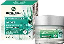 Düfte, Parfümerie und Kosmetik Aloe Feuchtigkeitscreme für alle Hauttypen Tag und Nacht - Farmona Herbal Care Moisturizing Cream
