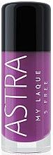 Düfte, Parfümerie und Kosmetik Nagellack - Astra Make-up My Laque 5 Free