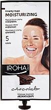 Düfte, Parfümerie und Kosmetik Feuchtigkeitsspendende Gesichtsmaske mit Schokolade - Iroha Nature Moisturizing Chocolate Creamy Mask