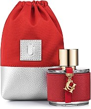 Düfte, Parfümerie und Kosmetik Geschenkbeutel für Parfüm Perfume Dress rot - MakeUp