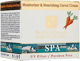 Düfte, Parfümerie und Kosmetik Feuchtigkeitsspendende und nährende Gesichtscreme mit Karrote - Health and Beauty Moisturizer & Nourishing Carrot Cream