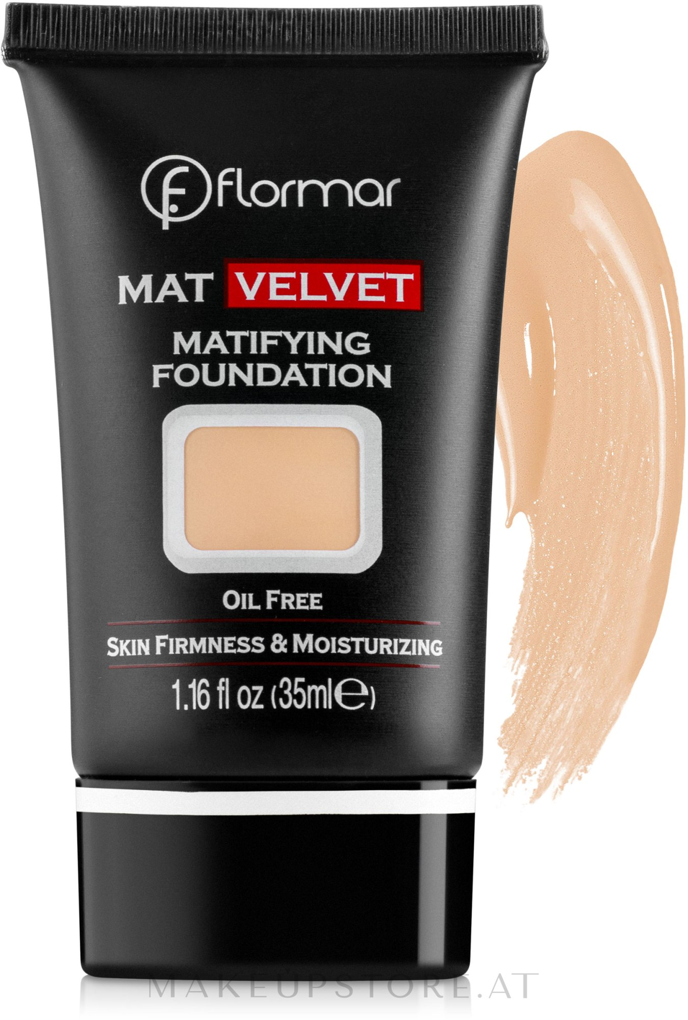 Mattierende Foundation - Flormar Mat Velvet Matifying Foundation — Bild 209