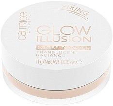 Düfte, Parfümerie und Kosmetik Gesichtspuder - Catrice Glow Illusion Loose Powder