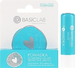 Düfte, Parfümerie und Kosmetik Schützender Lippenbalsam - BasicLab Dermocosmetics Famillias