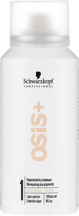 Trockenes Shampoo für blondes Haar und Volumen - Schwarzkopf Professional Osis+ Boho Rebel Blond
