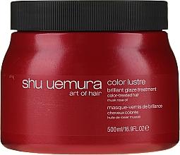 Düfte, Parfümerie und Kosmetik Haarmaske für coloriertes Haar - Shu Uemura Art Of Hair Color Lustre Treatment