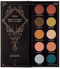 Düfte, Parfümerie und Kosmetik Lidschattenpalette - Zoeva Aristo Eyeshadow Palette