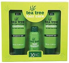 Düfte, Parfümerie und Kosmetik Haarpflegeset - Xpel Marketing Ltd Tea Tree Invigorating (Shampoo 100 ml + Conditioner/100 ml + Haarserum 30 ml)