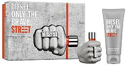 Düfte, Parfümerie und Kosmetik Duftset - Diesel Only The Brave Street (Eau de Toilette 35ml + Duschgel 50ml)