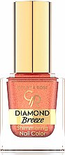 Düfte, Parfümerie und Kosmetik Nagellack - Golden Rose Diamond Breeze Shimmering Nail Color