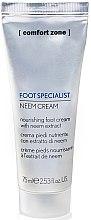 Düfte, Parfümerie und Kosmetik Tief pflegende Fußcreme mit Neem-Extrakt - Comfort Zone Foot Specialist Neem Cream