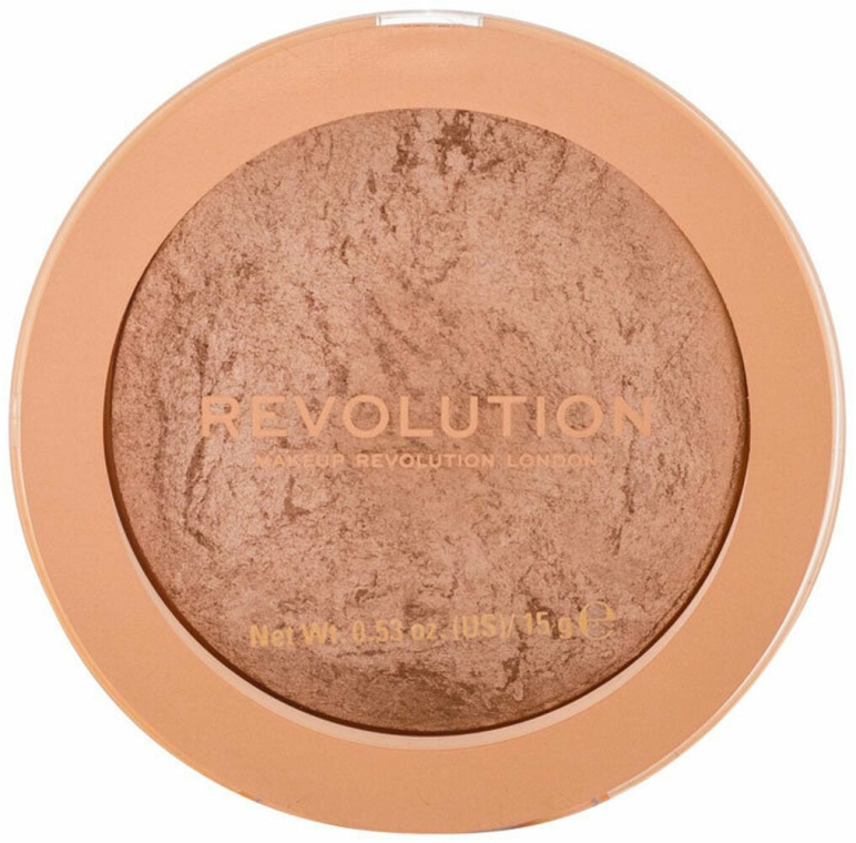 Bronzer für Gesicht - Makeup Revolution Reloaded Powder Bronzer