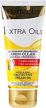 Düfte, Parfümerie und Kosmetik Schützendes Hand-, Nagel- und Nagelhautöl - Perfecta Body Extra Oils Protective Hand Cream Oil