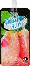Düfte, Parfümerie und Kosmetik Feuchtigkeitsspendende Handcreme mit Pfirsichextrakt - Guerisson Squeezing Fruit Hand Cream Peach