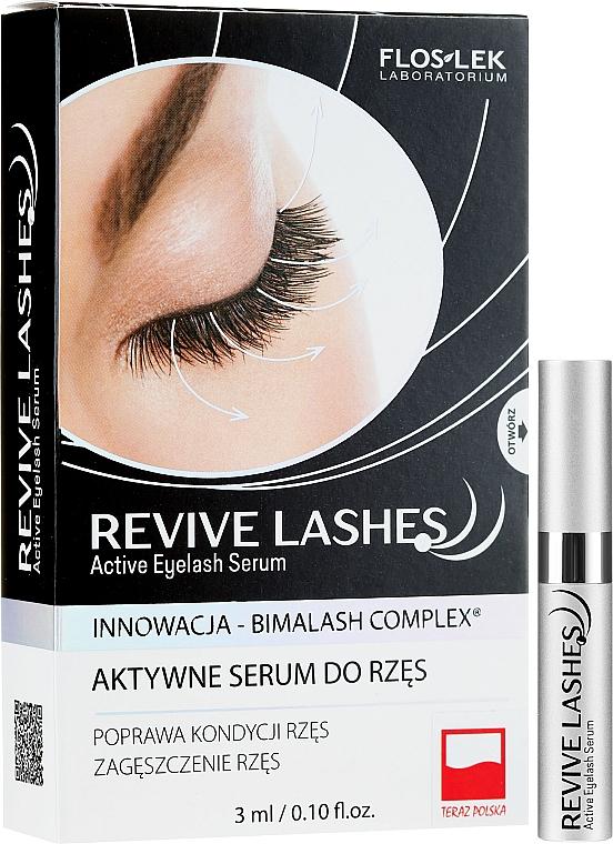 Wimpernserum zum Wachstum - Floslek Revive Lashes Eyelash Enhancing Serum