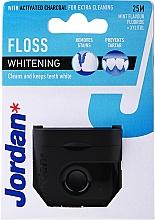 Düfte, Parfümerie und Kosmetik Zahnseide mit Aktivkohle und Minzgeschmack 25 m - Jordan Whitening Floss