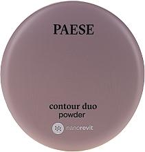 Düfte, Parfümerie und Kosmetik Konturpuder Duo - Paese Contour Duo Powder