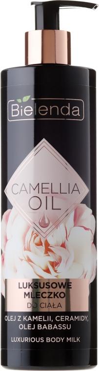 Schützende und feuchtigkeitsspendende Körperlotion - Bielenda Camellia Oil Luxurious Body Milk
