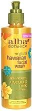 Düfte, Parfümerie und Kosmetik Hypoallergener Gesichtsreiniger mit Kokosmilch - Alba Botanica Natural Hawaiian Natural Hawaiian Facial Wash Deep Cleansing Coconut Milk