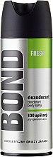Düfte, Parfümerie und Kosmetik Deodorant - Bond Fresh Deo Spray