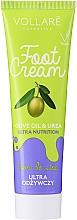 Düfte, Parfümerie und Kosmetik Fußcreme - Vollare Cosmetics De Luxe Ultra Nutrition Oile&Urea Foot Cream